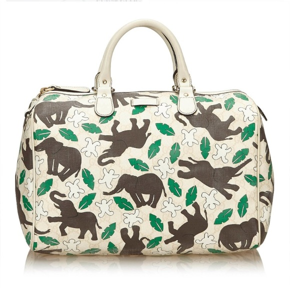 Gucci Bags   Joy Boston Elephant Bag   Poshmark 0593bdbd00